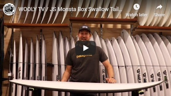 WOOLY TV / JS Monsta Box Swallow Tail Review