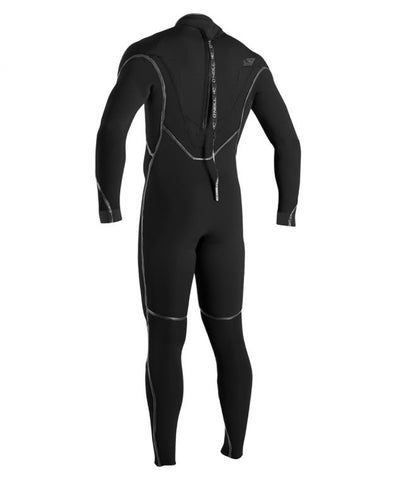O'NEILL PSYCHO 1 ZEN ZIP 3/2MM WETSUIT - BLACK - Star Surf + Skate