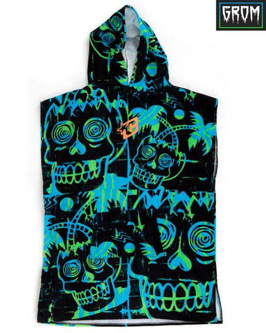 Creatures Grom Poncho Hooded Towel - Star Surf + Skate