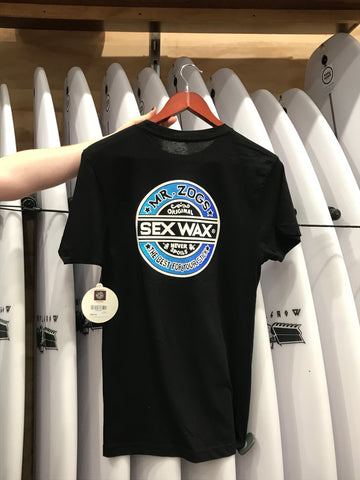 Sex Wax Fade Blue Blend Tee