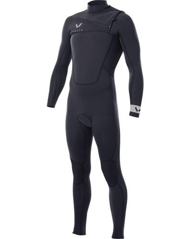 VOLTE MENS PREMIUM 32 CHEST ZIP TAPED LS STEAMER - Star Surf + Skate