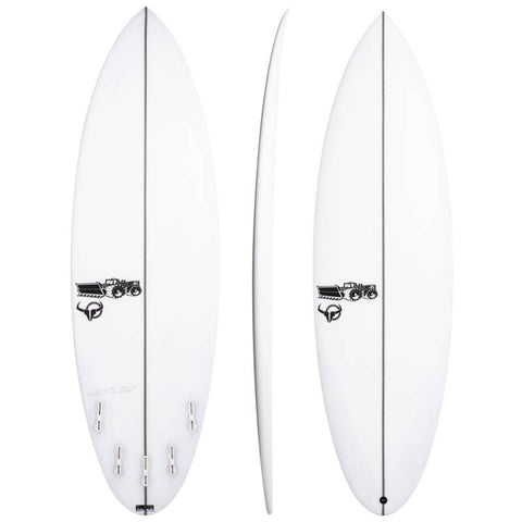 JS SURFBOARDS BULLSEYE ROUND TAIL