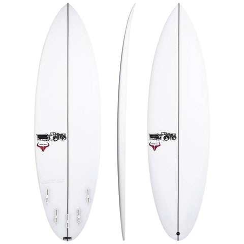 JS SURFBOARDS RAGING BULL ROUND TAIL