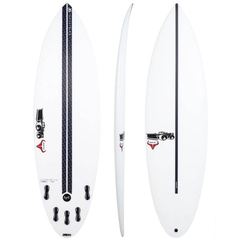 JS HYFI RAGING BULL ROUND TAIL - Star Surf + Skate