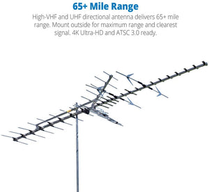Antenna Winegard Long Range Outdoor 65+ Mile HD