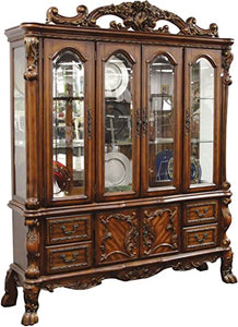 Hutch Acme Dresden Only in Brown Cherry Oak 12156H