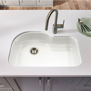 Kitchen Sink Houzer MH-3200 Medallion Gourmet WHITE