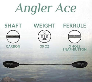 Kayak Paddle BENDING BRANCHES Angler Ace BLACK