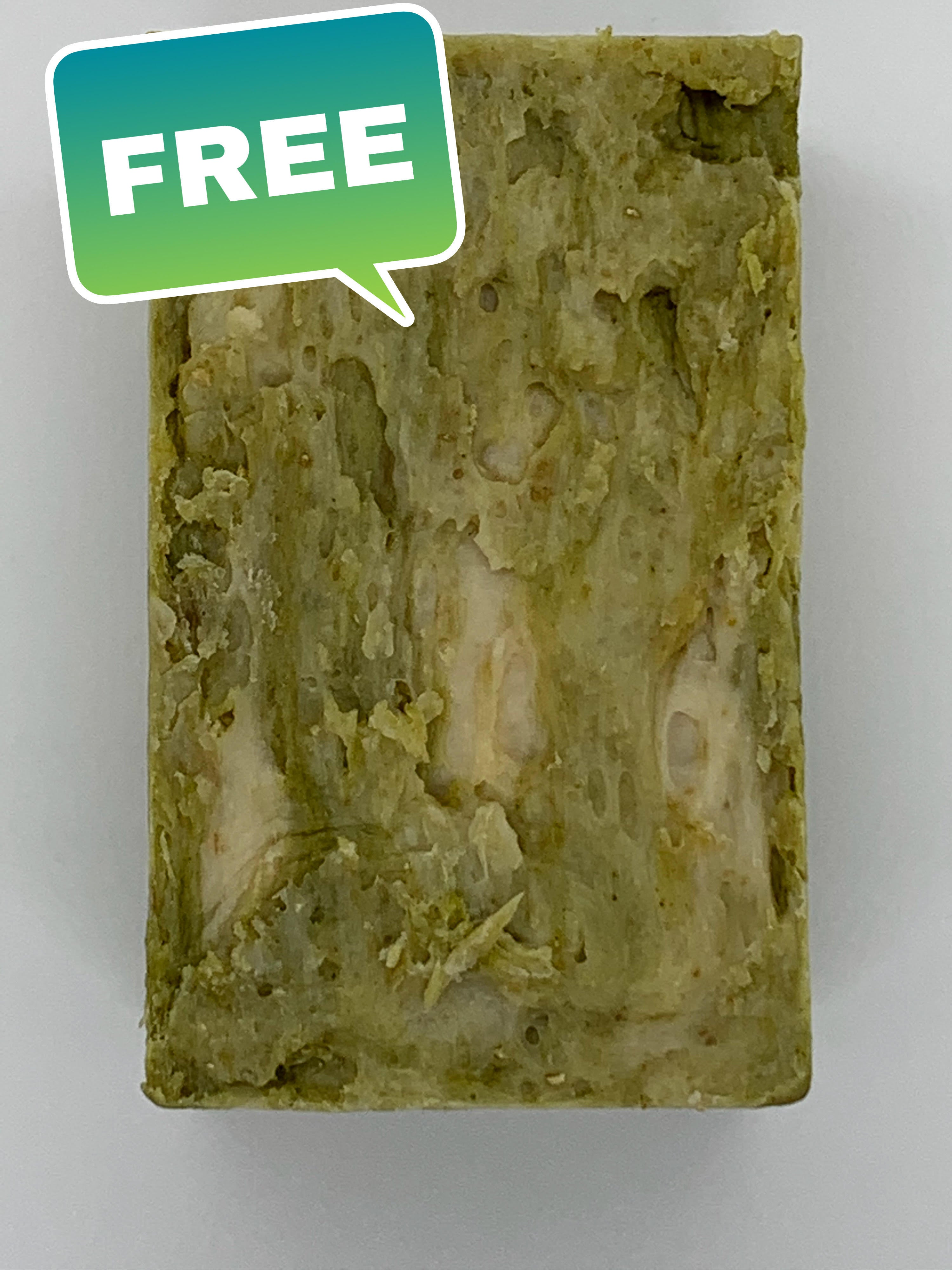 Hot Process Soap Set (8) 7oz Bars! Get Free Irish Sea Moss Bar with Set- Fermented Rice Water - Goat Milk - Honey - MSM - Oatmeal! Helps with Acne!