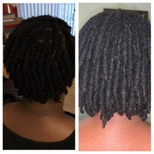 Hair Cream *Hair of Wool Irish Sea Moss Cream 4oz* Magnesium - Hyaluronic Acid - Menthol - All Hair types - Promotes Hair & Brow Growth! See Before & After Pictures