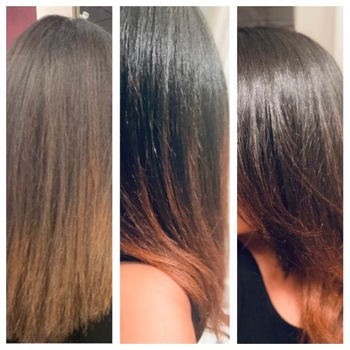 Hair & Body Oil *Hair of Wool Oil* 4oz. 100 % Organic Oils - MENTHOL - Premium Essential Oils and Extracts. Promotes Hair Growth! See Before and After Pictures!