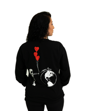Load image into Gallery viewer, More love long sleeve - Black