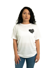 Load image into Gallery viewer, More love short sleeve - white