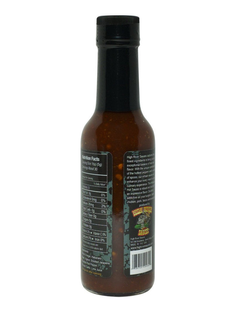 High River Sauces | Hellacious Hot Sauce