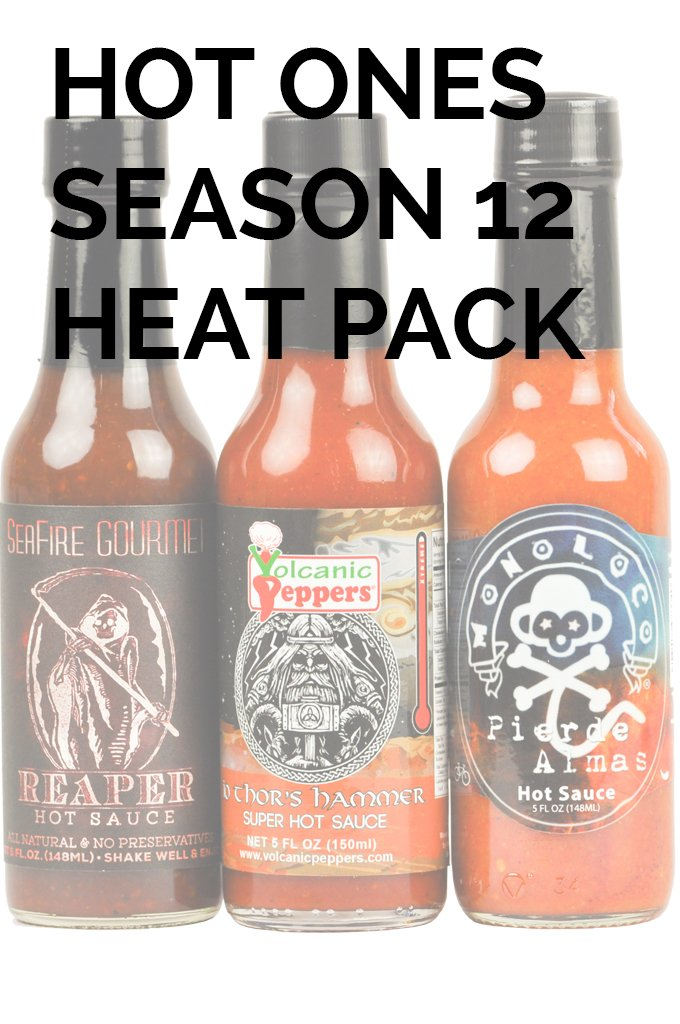 Hot Ones Season 12 Heat Pack