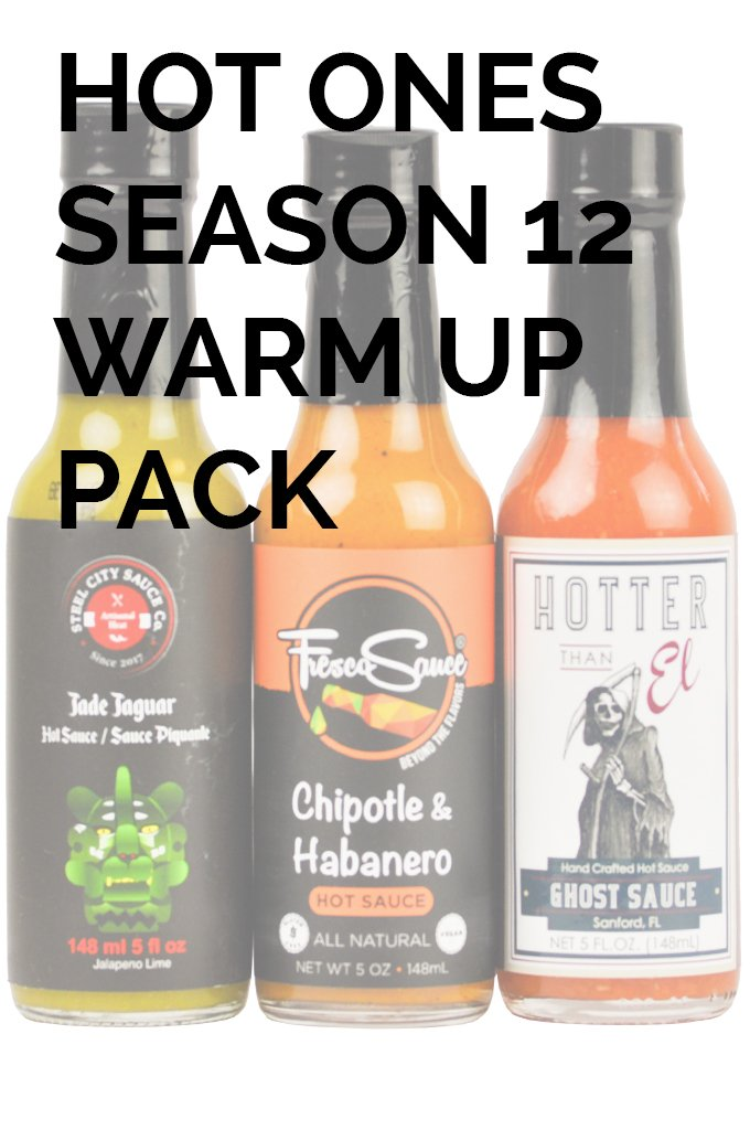 Hot Ones Season 12 Warmup Pack