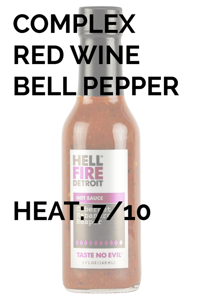 Hell Fire Detroit | Cabernet Habanero Reaper