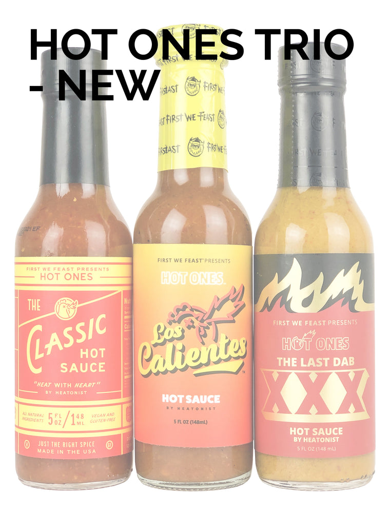 Hot Ones Trio Pack - New