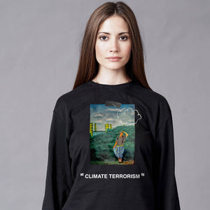 Climate Terrorism Long-Sleeve (Black)