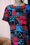 80's Abstract Dress