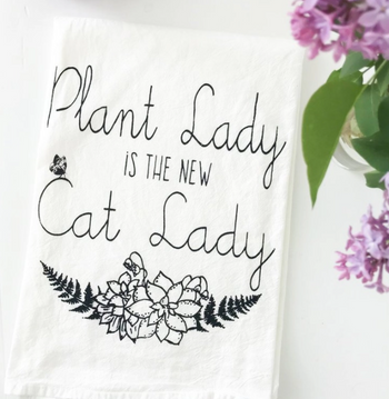 Plant Lady Towel