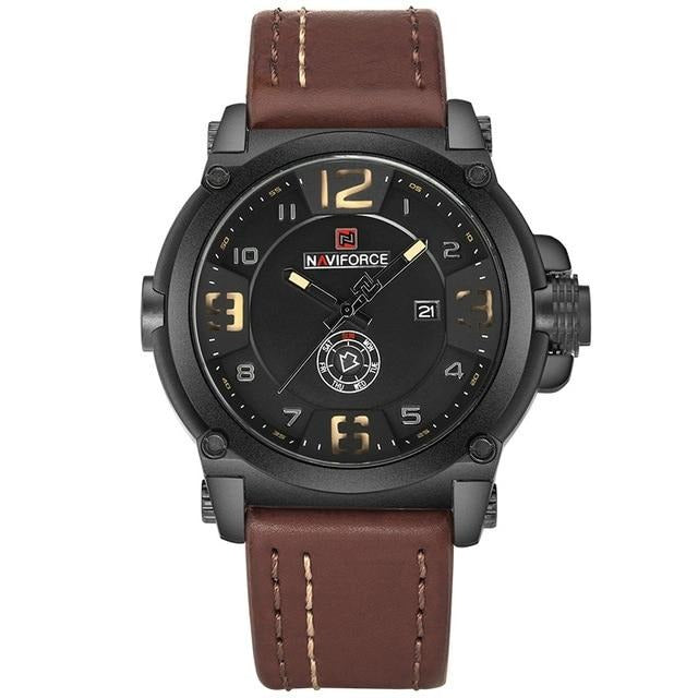 Naviforce Luxury Leather - 45mm