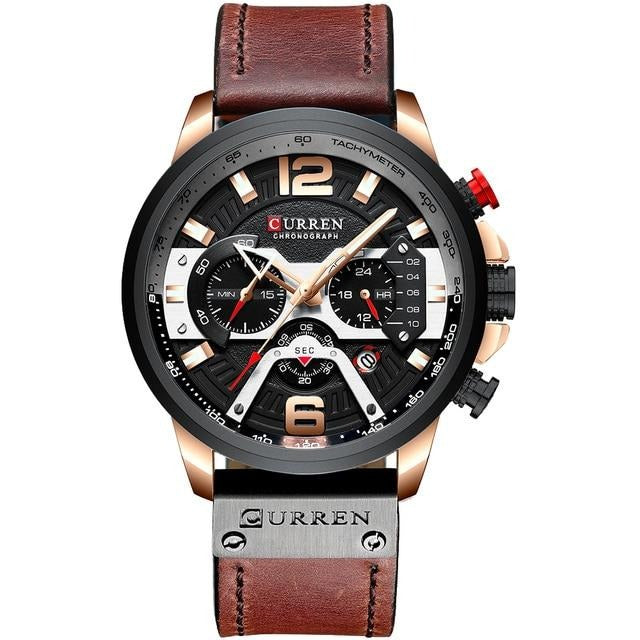Curren Military Chronograph - 48mm