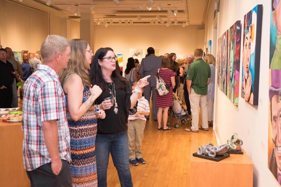 Wilkes Art Gallery Show
