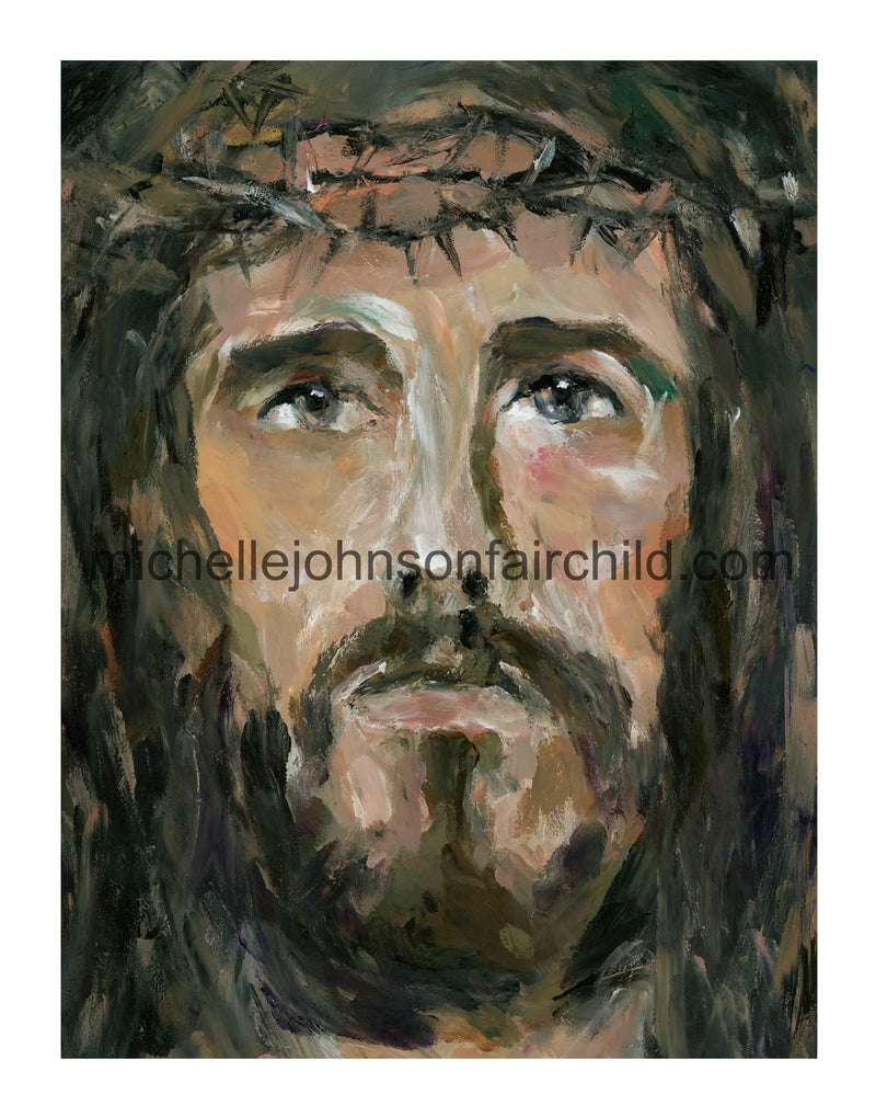 Finger Painted Jesus