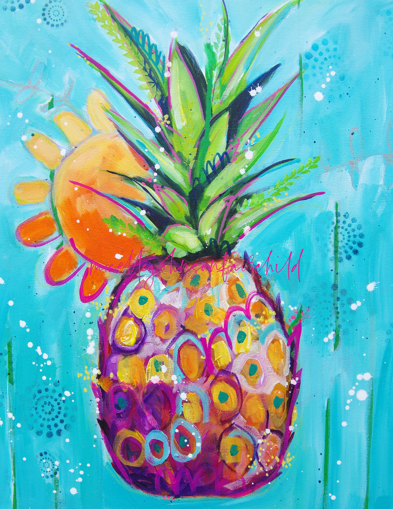 Sunshine Pineapple