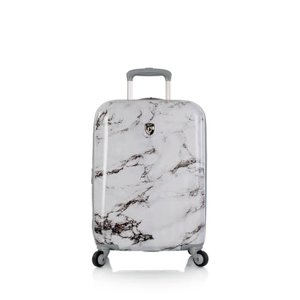 "Bianco - White Marble 21"" Fashion Spinner™ Carry-on"