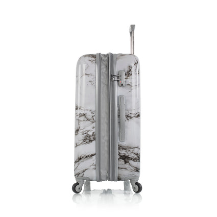 "Bianco - White Marble 26"" Fashion Spinner™"