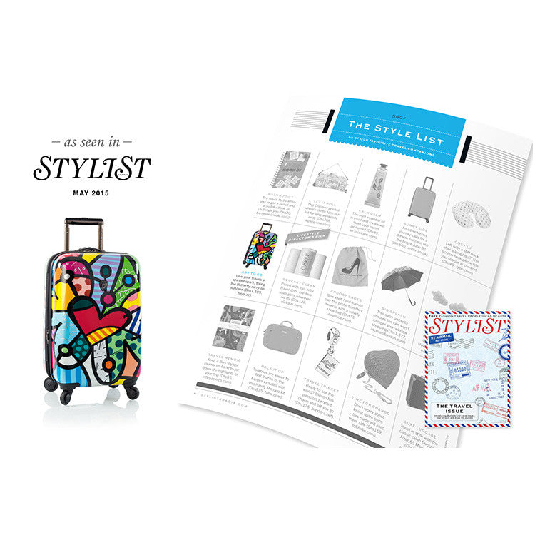 Britto - Butterfly Love 3pc Set - The Art of Modern Luggage™