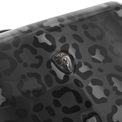 "Black Leopard Fashion Spinner™ 21"" Carry-on"
