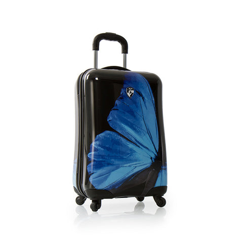 "Blue Morpho 21"" Fashion Spinner™ Carry-on"