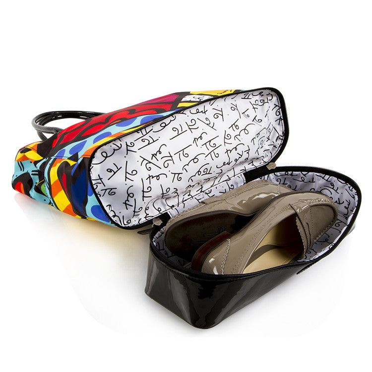 Britto by Heys Square Tote - New Day