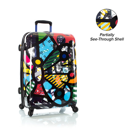"Britto - Butterfly Transparent 26"" - The Art of Modern Travel™"