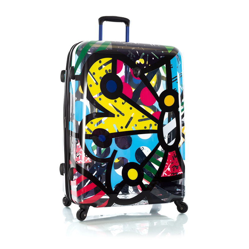 Britto - Butterfly Transparent 3pc Set - The Art of Modern Travel™