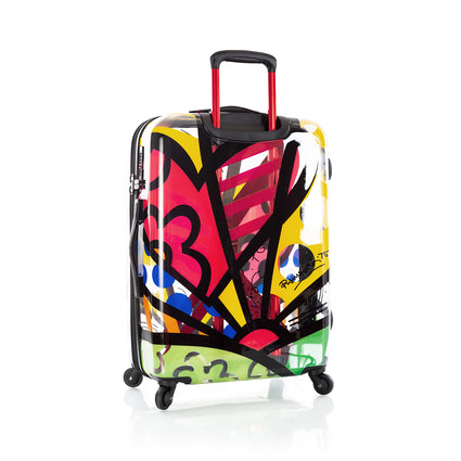 "Britto - A New Day Transparent 26"" - The Art of Modern Travel™"