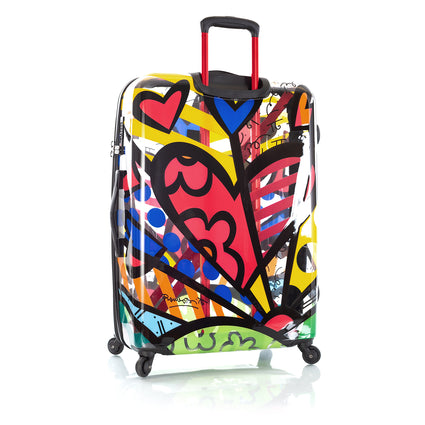 "Britto Transparent 26"" Luggage and 5pc Packing Cube Set - A New Day"