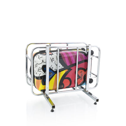 "Britto - Hearts Carnival 21"" - The Art of Modern Luggage™"