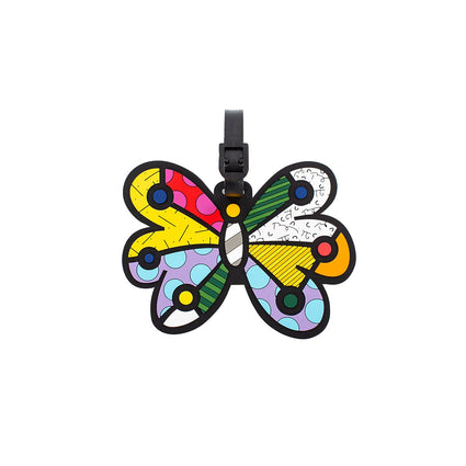 Britto Luggage Tag - Butterfly