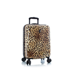 "Brown Leopard Fashion Spinner™ 21"" Carry-on"