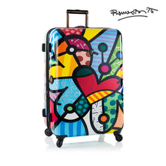"Britto - Butterfly Love 30"" - The Art of Modern Luggage™"
