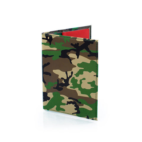 Camo Passport Holder