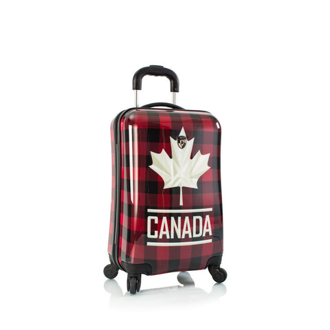 "Canada Flannel Fashion Spinner™ 21"" Carry-on"