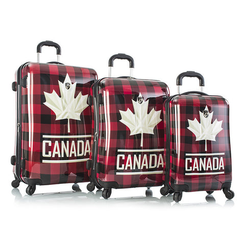Canada Flannel Fashion Spinner™ 3pc. Set