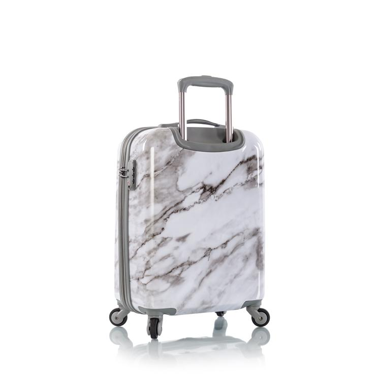 "Carrara - White Marble 21"" Fashion Spinner™ Carry-on"