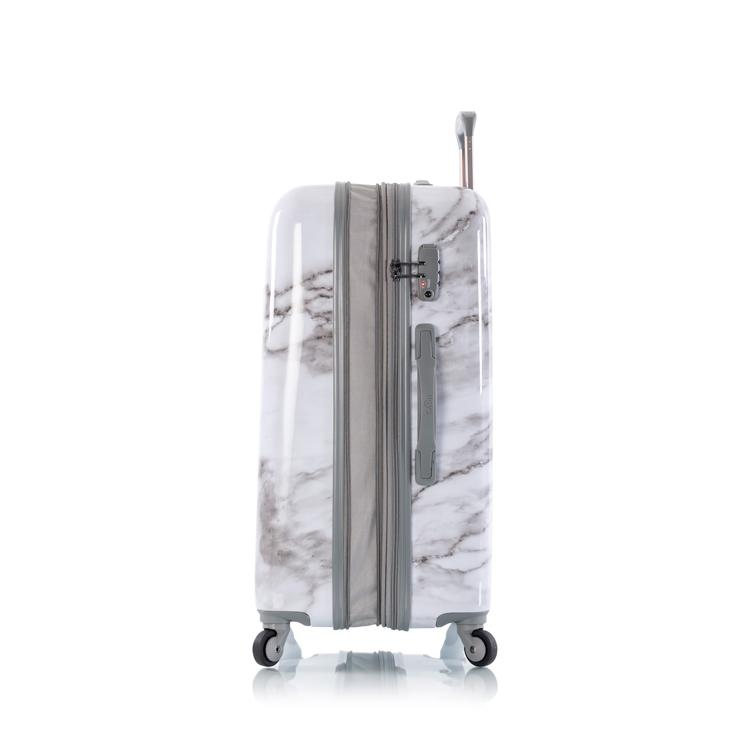 "Carrara - White Marble 26"" Fashion Spinner™"