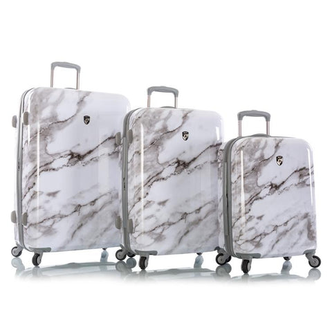 Carrara - White Marble Fashion Spinner™ 3pc. Set